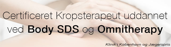Body SDS krops- og psykoterapeut Sisse Plesner